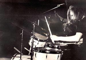 Klaus am Schlagzeug 1975?